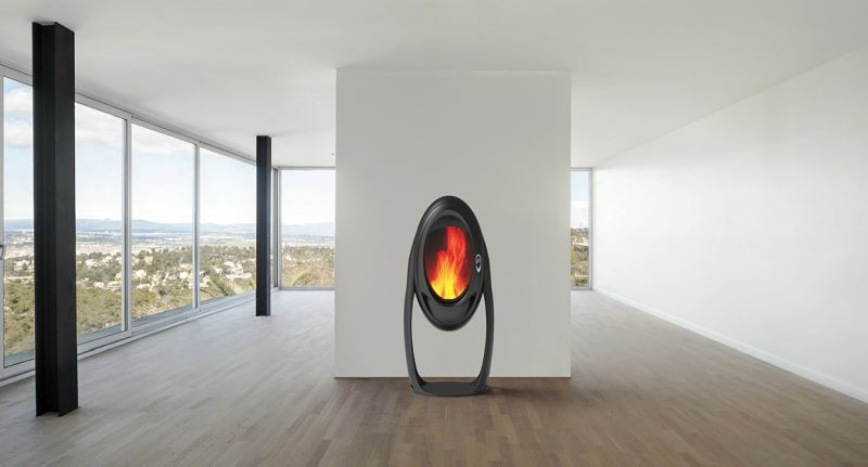 Otherworldly Wood-Burning Stoves