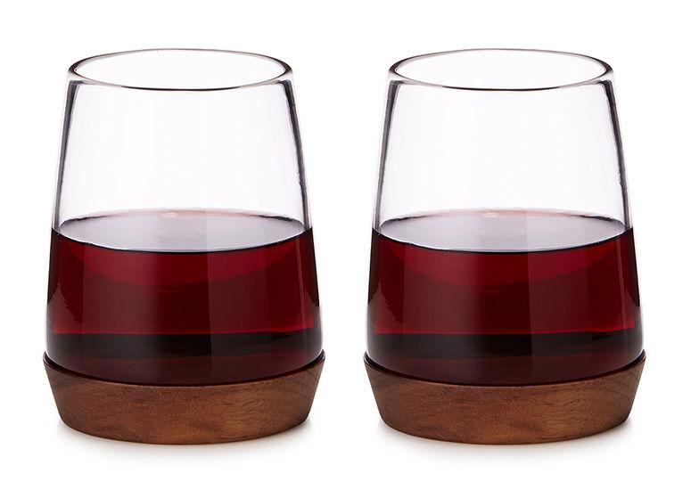 Naturalistic Wine Glasses