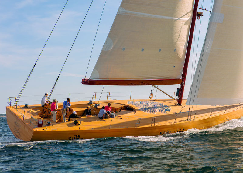 Luxurious Wooden Yachts