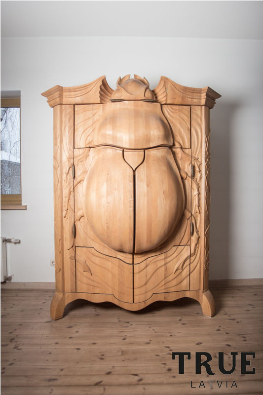 Beetle Like Storage Cabinets Wooden