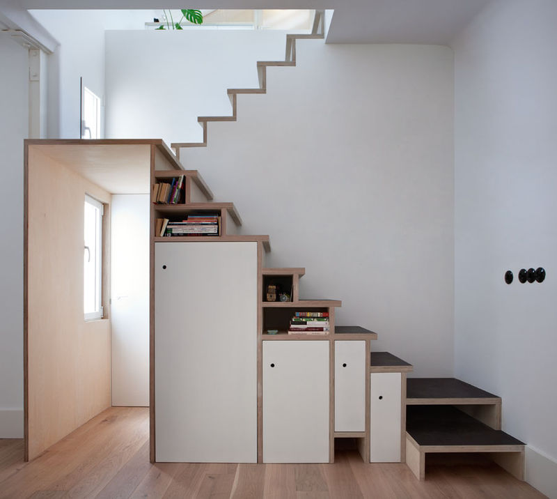 Storage-Stuffed Stairways