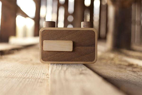 Wood-Made Film Cameras