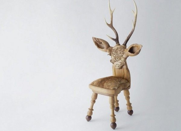 Whimsically Petite Deer Chairs