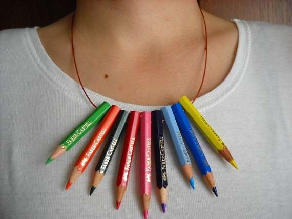 Writing Utensil Jewelry