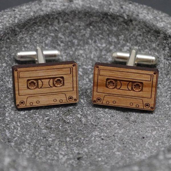 Retro Cassette Cufflinks
