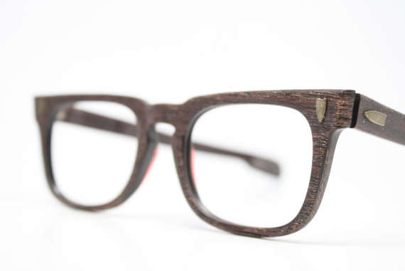 Wooden Hipster Eyewear : Wooden Glasses