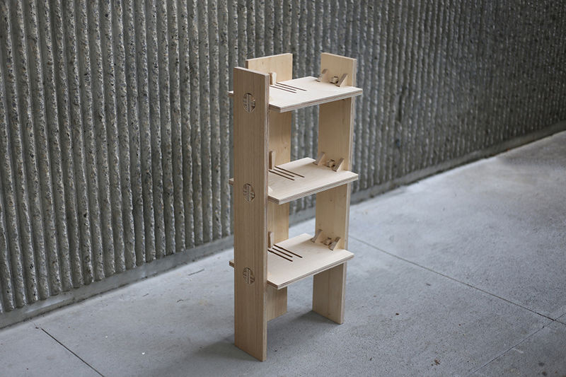 Knock Down Furniture Wooden Moveable