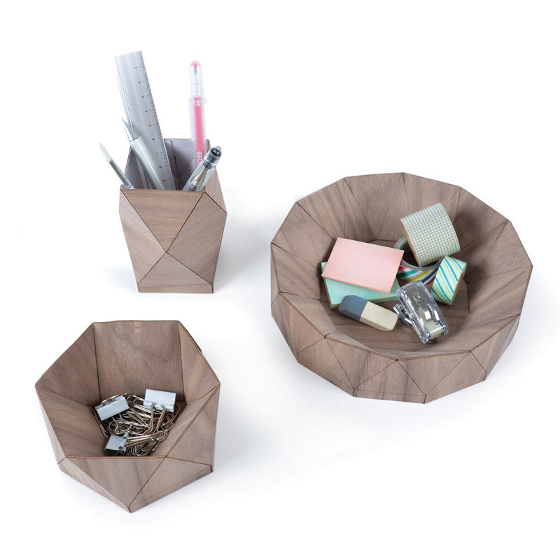 Wooden Origami Objects