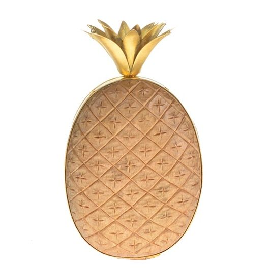 Wooden Pineapple Purses