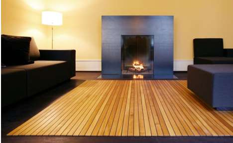 Lumber-Inspired Carpets