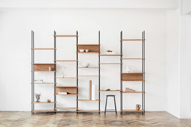 Modular Wooden Shelving Systems