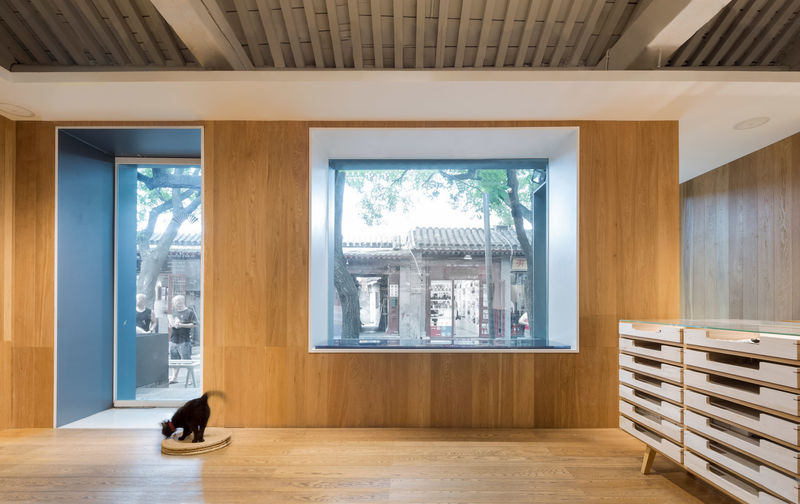 Ultra-Minimalist Wooden Retail Interiors