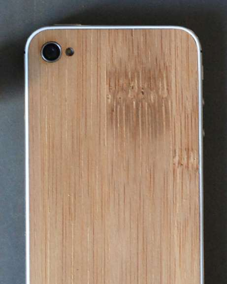 Wooden Smartphone Modifications