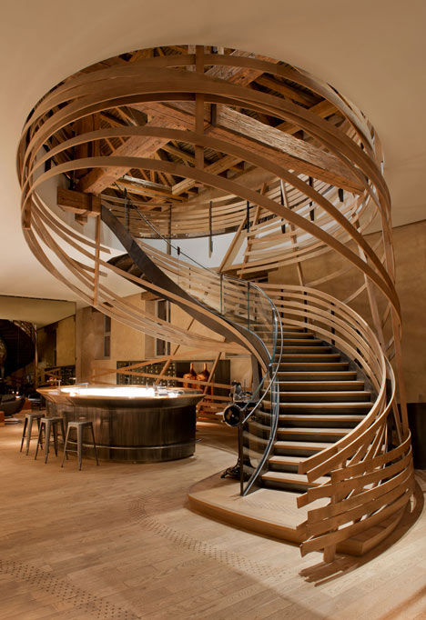 Wooden Strip Staircases