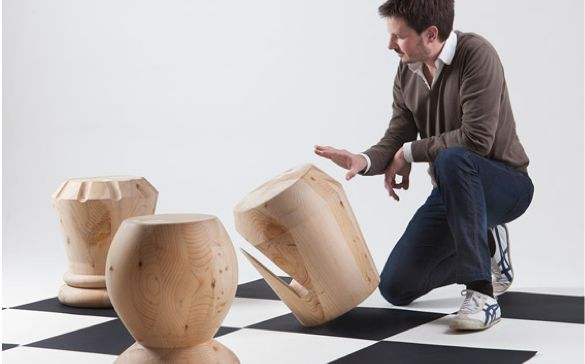 Chess-Inspired Seating