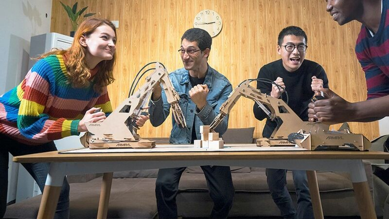 Robotic Wooden Tabletop Games