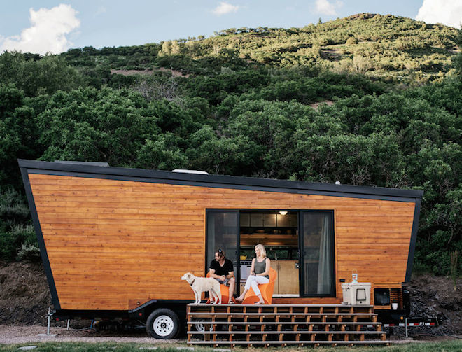 Angular Wooden Trailers