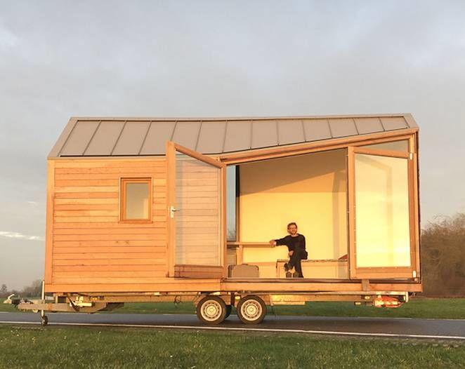 Customizable Wooden Micro Homes