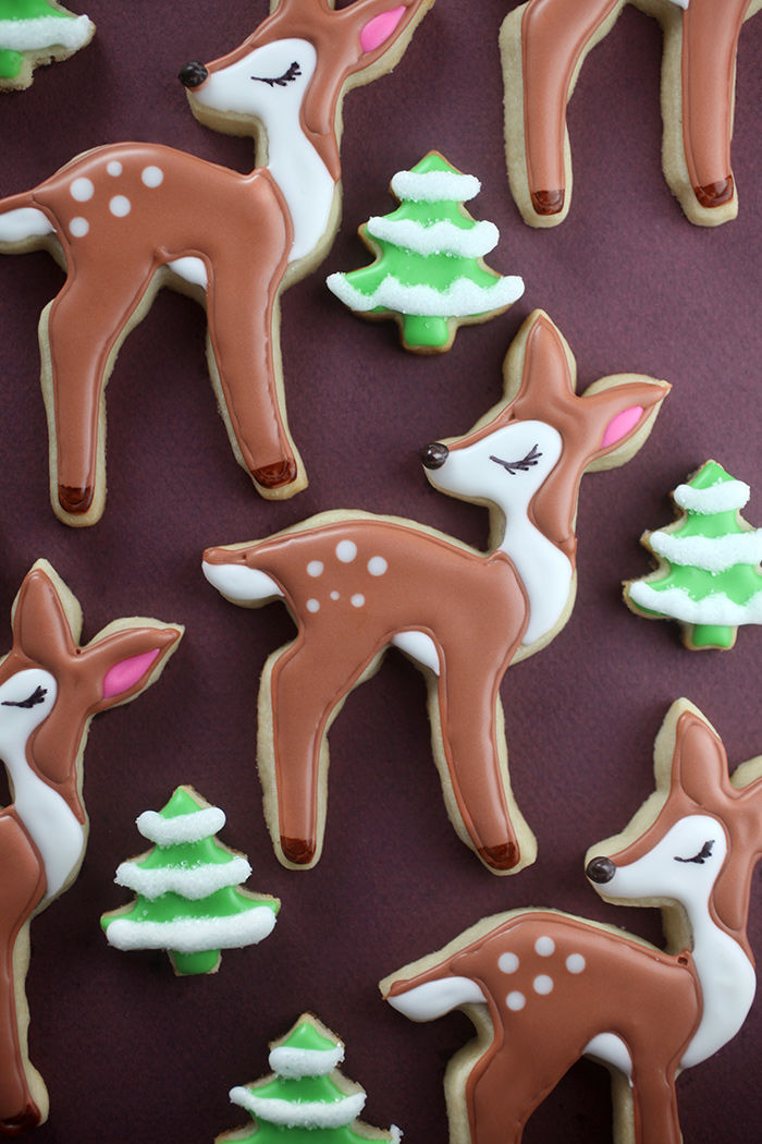 Woodland Fawn Cookies