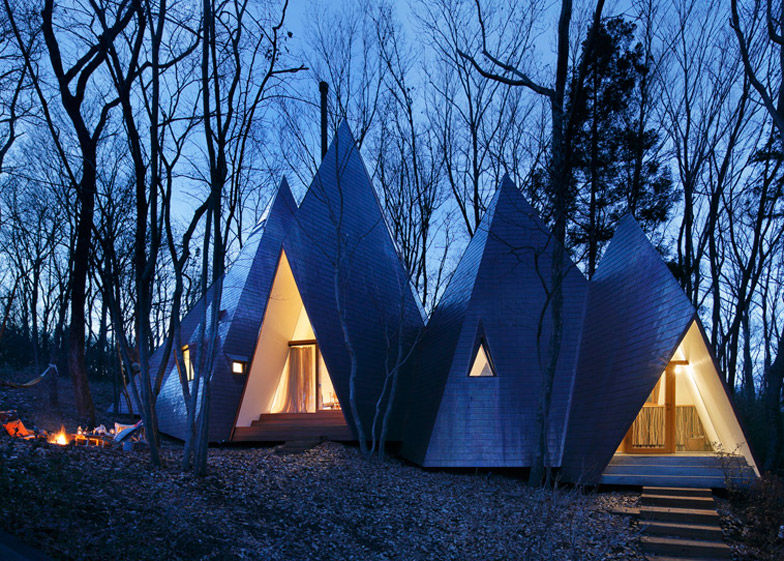 Triangular Timber Abodes