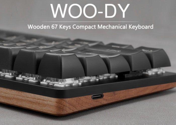 Wood-Finished Mechanical Keyboards