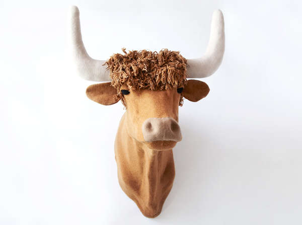 Handmade Knitted Taxidermy
