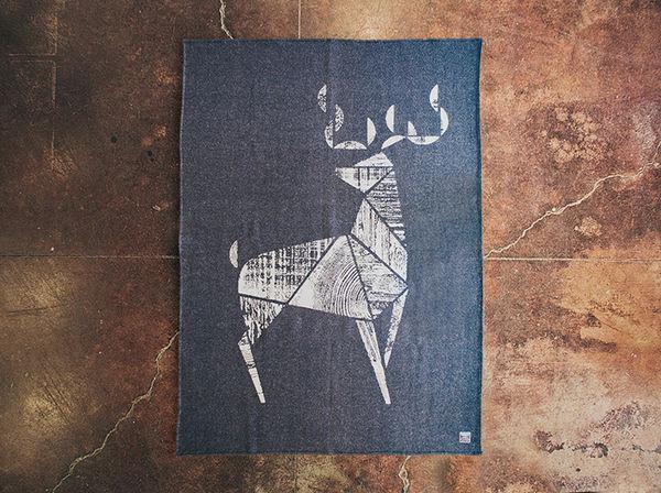 Distressed Rustic Wool Blankets
