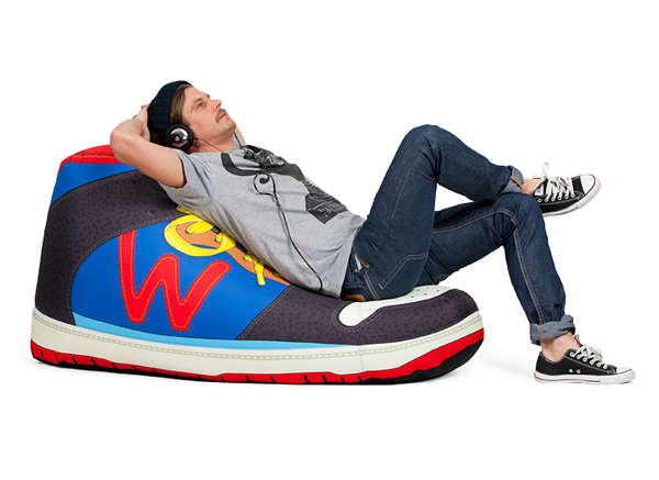 Oversized Shoe Seating