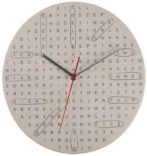 Word Nerd Clocks