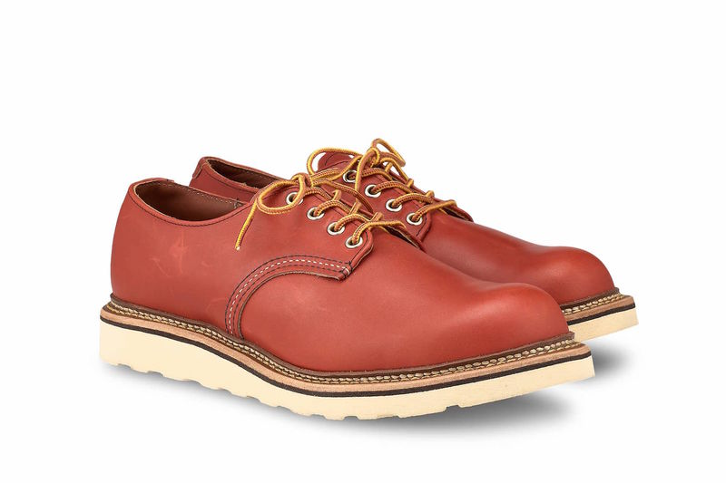 Modernized Oil-Tanned Leather Shoes