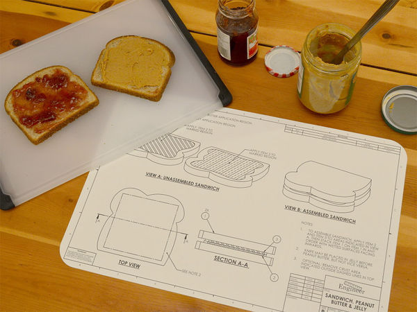 Engineer-Inspired Placemats