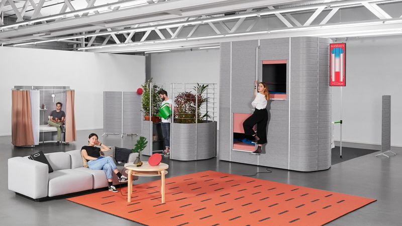 Mixed-Use Office Pods
