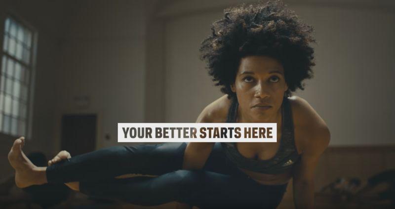 Uplifting Sportswear Ads