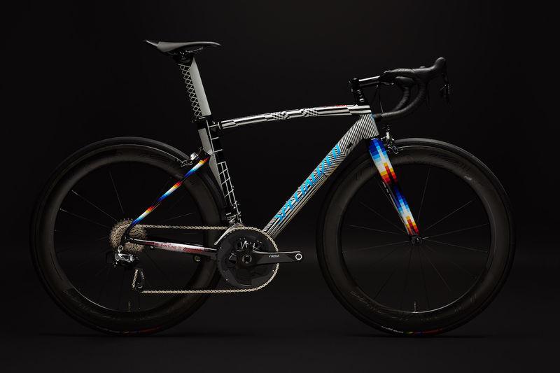 Glitch Graphic-Infused Bikes