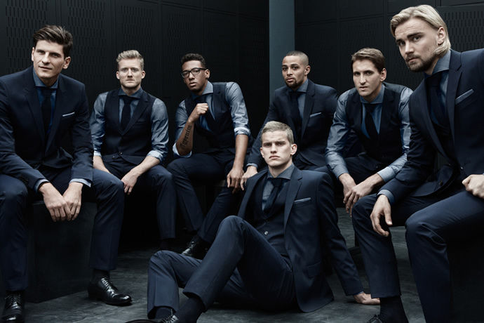 Stylish Soccer Team Suits