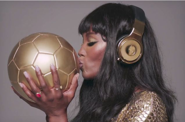 World Cup Gold Headphones