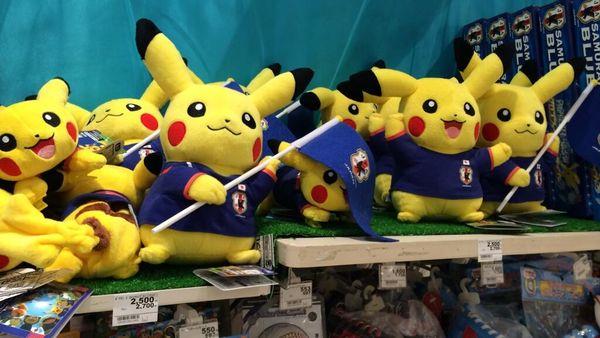 Anime Soccer Mascots