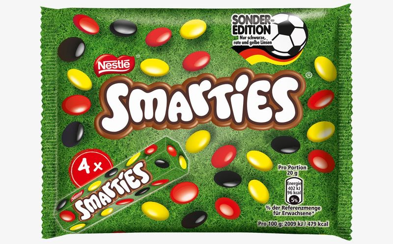 Sporty Nationalistic Candies