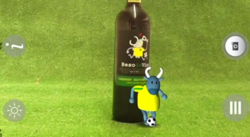 Interactive Wine Bottles