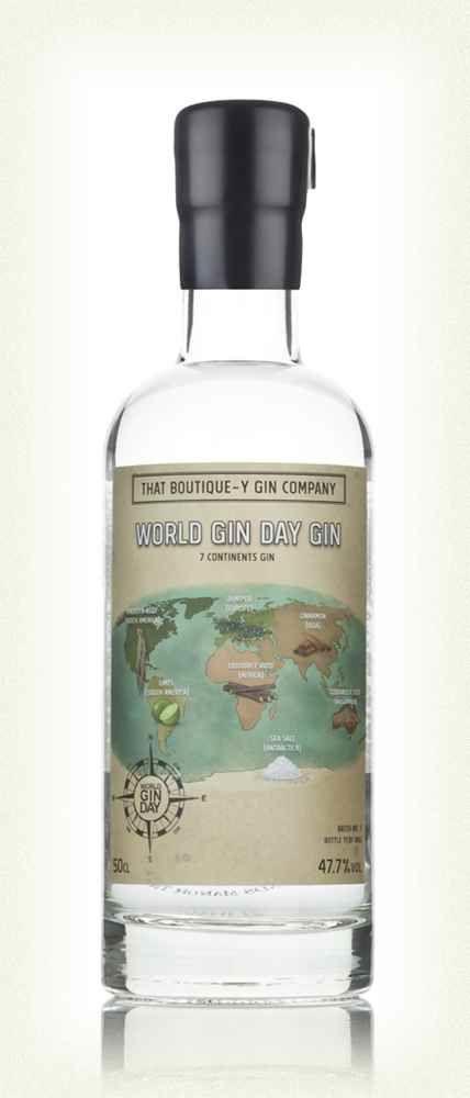 Globe-Branded Gin Bottles