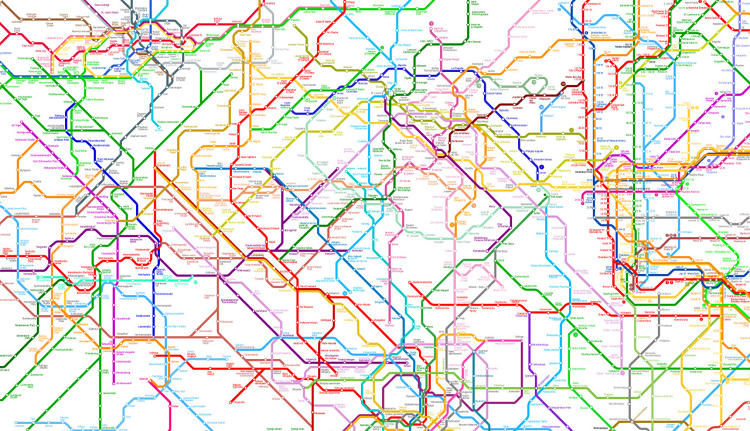 Global Subway Maps