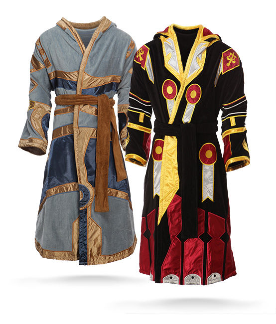 Battle Game Bathrobes