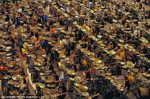 World-Record Drum Charities