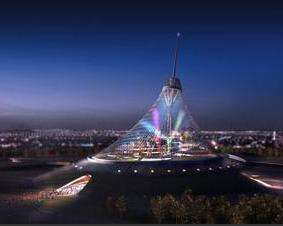 Indoor City & Indoor City: 50 Story Tent to Cover Kazakhstanu0027s Capital