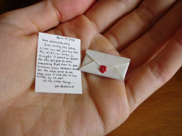 Miniature Mail
