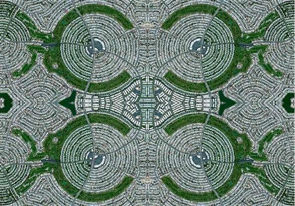 Satellite Image Rugs