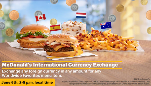 Foreign Currency-Centric Marketing Stunts