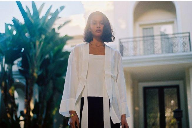 Spanish-Inspired Silk Clothing
