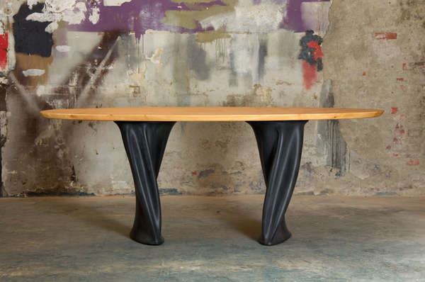 Wobbly Rubber Legged Tables