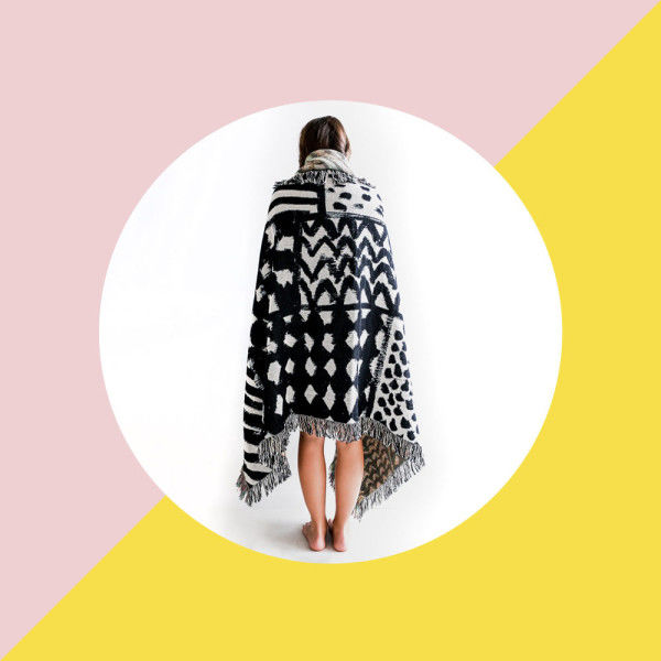 Playful Artist-Designed Throws